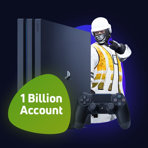 GTA 5 PS4 Pre-Modded Account (1 Billion – 100 Billion Cash)