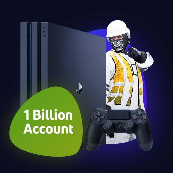 PS5/PS4 GTA Online Modded Account 1 billion $