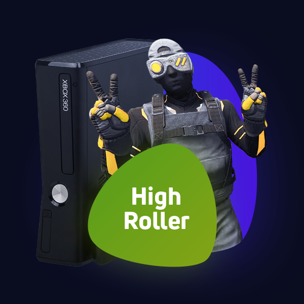 High Roller Xbox 360 Package