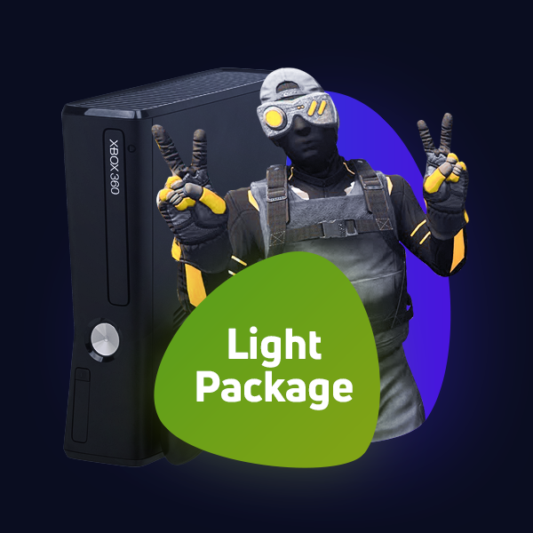 Xbox 360 Light Package